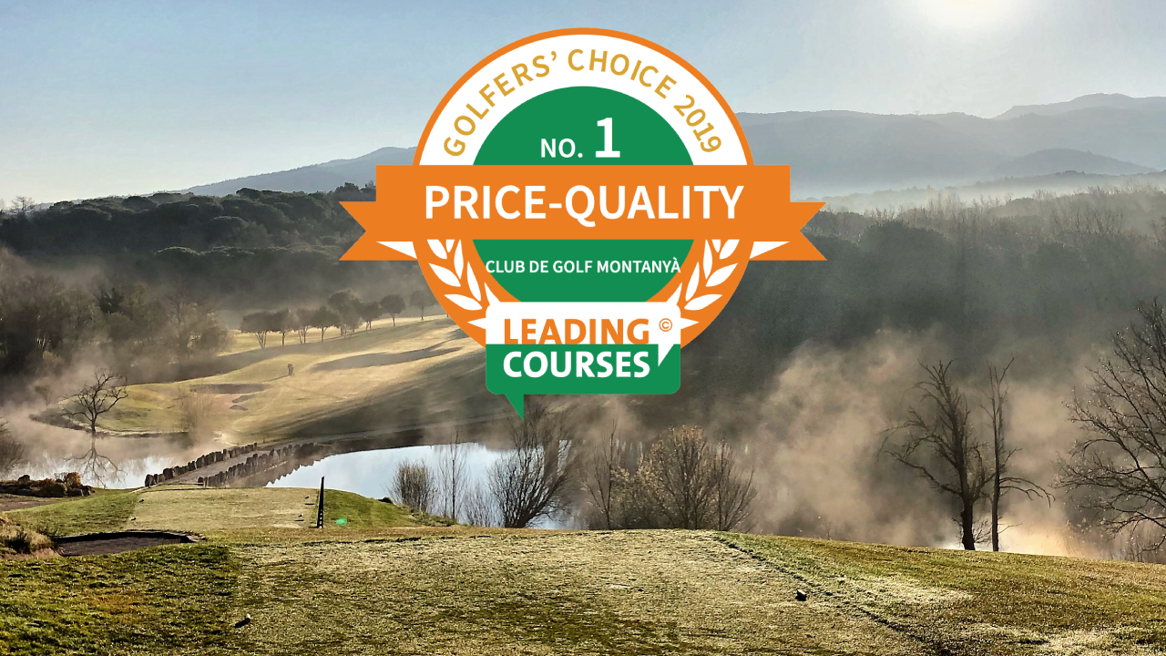 Golf Montanyà Spanish no. 1 in Golfers' Choice Awards for Price-Quality
