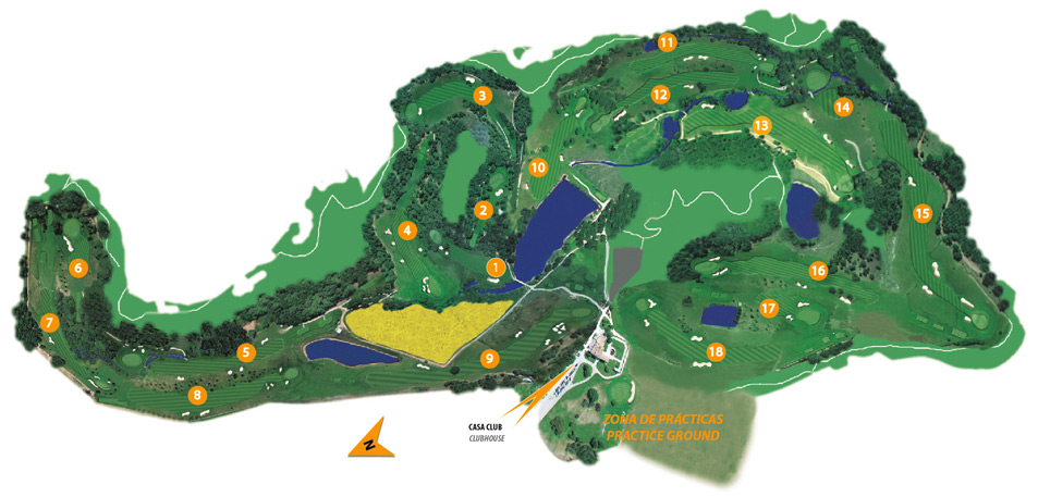 THE GOLF MONTANYÀ COURSE